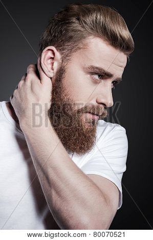 Bearded Handsome.