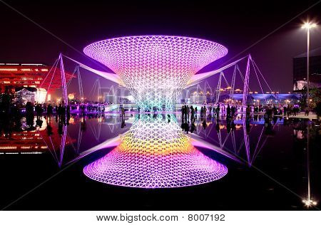 The Expo Boulevard At The Largest World Expo In Shanghai