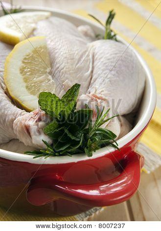 Chicken In Red Crockpot