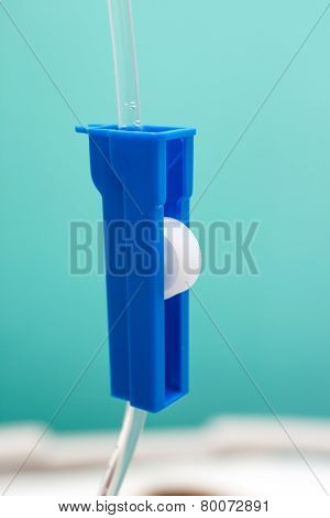Drip In A Hospital, Close Up