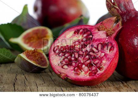 fresh fruits close-up