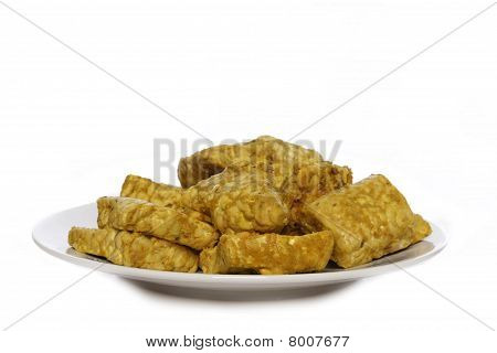 seasoned tempeh