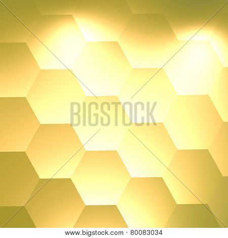 Electric light bulb effect. Geometric abstract background for website business. Electricity power.