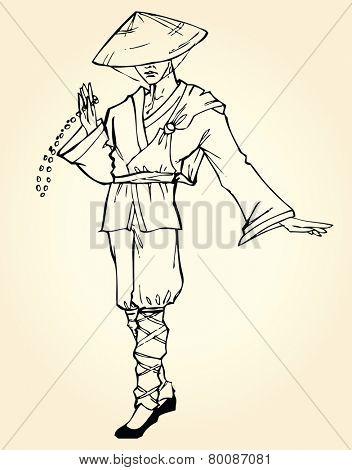 Eastern monk