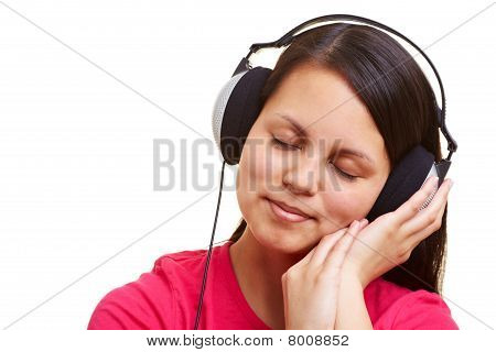 Relaxation With Music Over Headphones