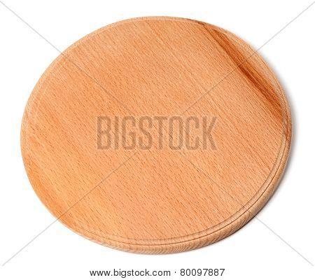 Round Wooden Kitchen Board