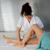 pic of foot massage  - Foot massage - JPG