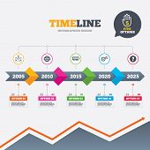 foto of not found  - Timeline infographic with arrows - JPG