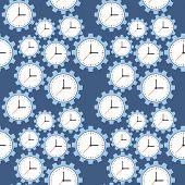 pic of cogwheel  - Seamless pattern - JPG