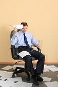 stock photo of collapse  - Financial collapse - JPG