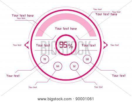 Pink Vector Design Elements