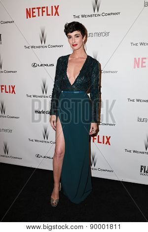 LOS ANGELES - JAN 11:  Paz Vega at the The Weinstein Company / Netflix Golden Globes After Party at a Beverly Hilton Adjacent on January 11, 2015 in Beverly Hills, CA
