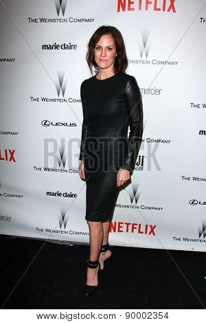 LOS ANGELES - JAN 11:  Annabeth Gish at the The Weinstein Company / Netflix Golden Globes After Party at a Beverly Hilton Adjacent on January 11, 2015 in Beverly Hills, CA
