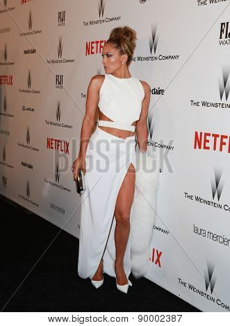 LOS ANGELES - JAN 11:  Jennifer Lopez at the The Weinstein Company / Netflix Golden Globes After Party at a Beverly Hilton Adjacent on January 11, 2015 in Beverly Hills, CA