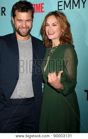 LOS ANGELES - MAY 5:  Joshua Jackson, Ruth Wilson at the Showtime's