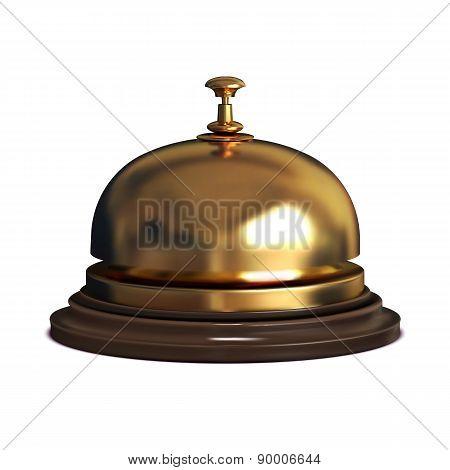 Gold Vector Reception Bell