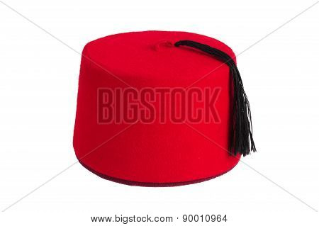 Turkish Turban On A White Background