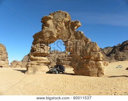 Massif of 'Ahaggar southern Algeria