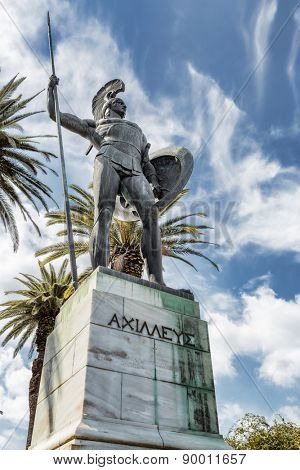Statue of Achilles, Greece, Achillion palace