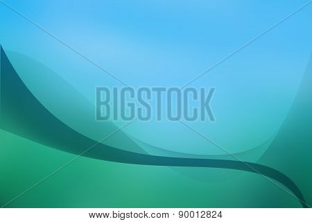 Blue gren background design