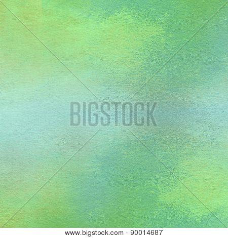 Green watercolor