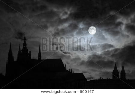 Full Moon Over Transilvania