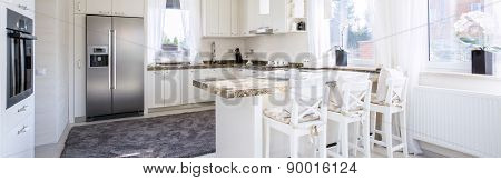 Spacious Kitchen With Countertop