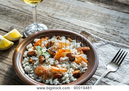 Carnaroli Rice With Seafood