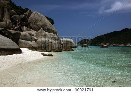 Asia Thailand Ko Tao Island Ko Nang Yuan