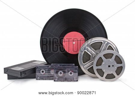 Old Film Strip, Photographic Film, Record