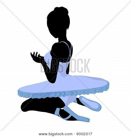 Ballerina Illustration Silhouette