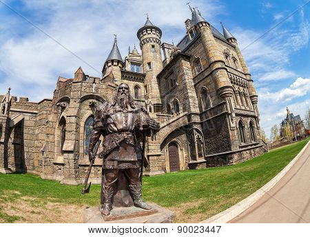Tourist Center Castle Garibaldi In Samara Region, Russia