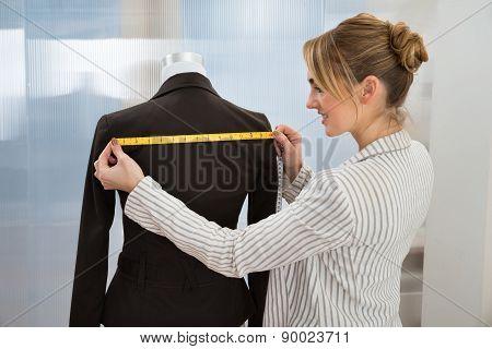 Fashion Designer Measuring Suit