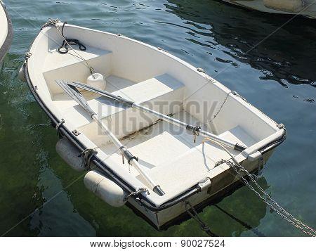 White Little Boat