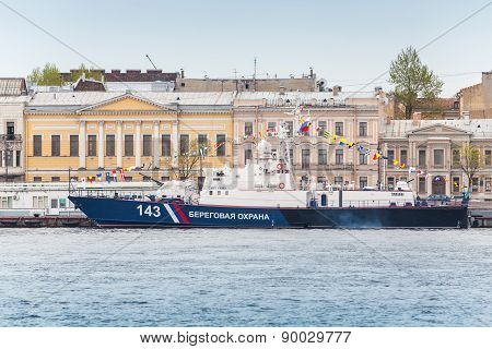 Russian Border Guard Svetlyak Class Patrol Craft