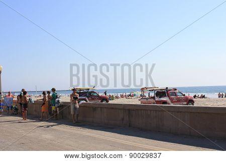 San Diego Beach Front Promenade