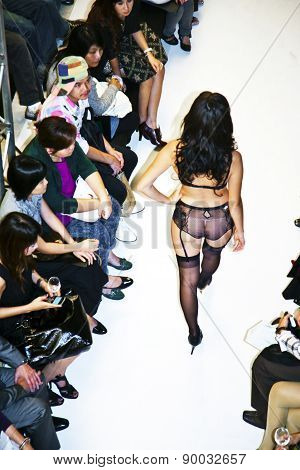 Opening Of Lingerie Shop La Perla In Shopping Mall Gayson