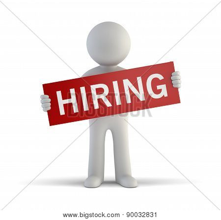 3D Small People - Hiring