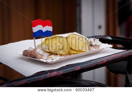 Traditional Dutch Herring