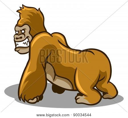 Brown Gorilla