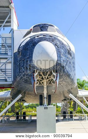 The Original Space Shuttle Explorer At Kennedy Space Center
