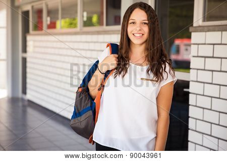 Gorgeous University Student