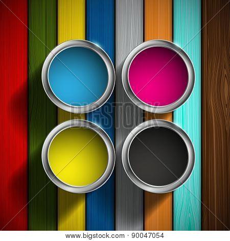 Cmyk Colors Design