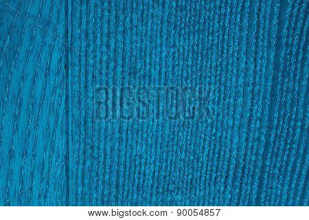Turquoise Wood Grain Texture