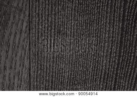 Black Wood Grain Texture