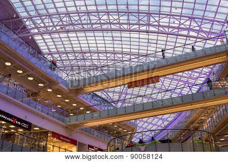 Mall Aviapark, The Largest Shopping Center In Europe