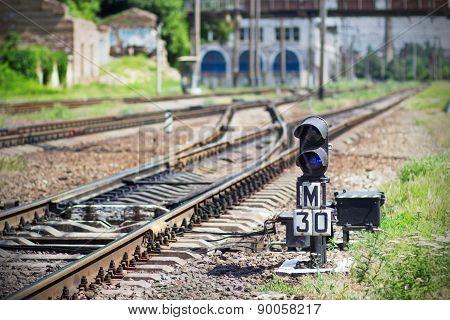 Semaphore On Railway
