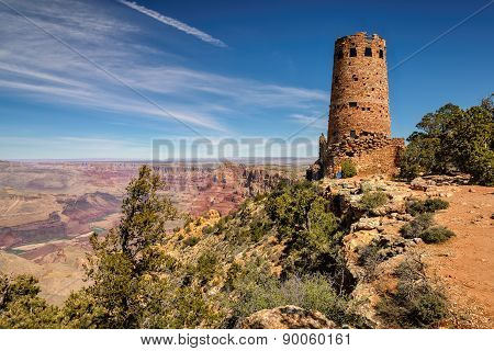 Desert View Watchtower Grand Canyon South rim, Arizona
