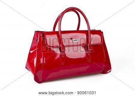 Elegant Red Purse
