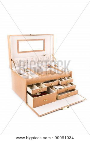 Open Box For Jewelery